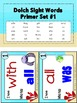 Sight Words Dolch Word List - I Have... Who Has? Game Bundle