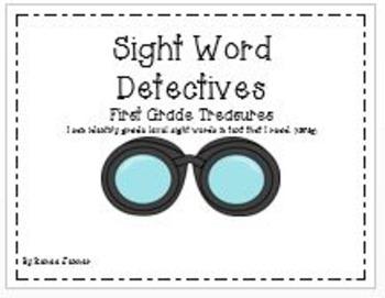 Sight Words: First Grade Treasures Unit 3