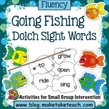 Sight Words- Fishing For Sight Words- Dolch 220 Sight Words