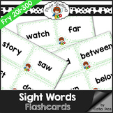 Sight Words Flashcards - Fry 201 to 300
