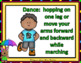 Sight Words Fluency Dancing & Exercising SECOND GRADE Dolc