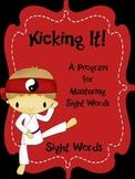 Sight Words Fluency Program - Kicking It Sight Words Dolch