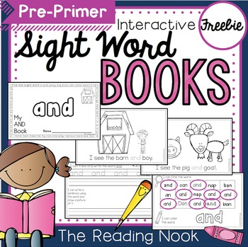 "FREE Sight Word Book ""AND"""