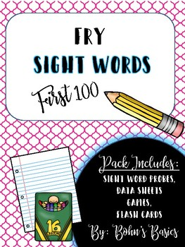 Sight Words: Fry's First 100