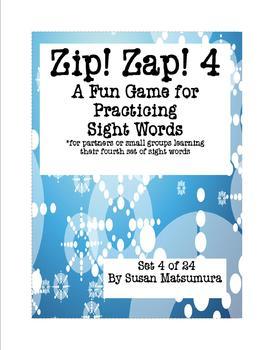 Sight Words Fun Game: Zip! Zap! 4