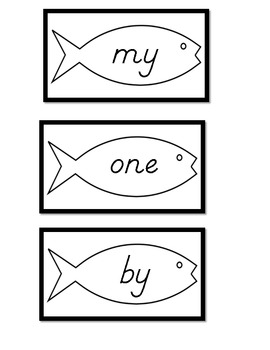 Sight Words Go Fish 2
