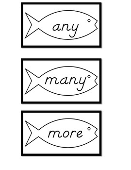 Sight Words Go Fish 3