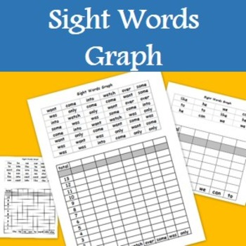 Sight Words Graph