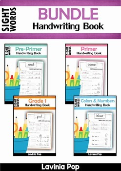 Sight Words Handwriting Book BUNDLE