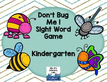 Fry Sight Words (Bugs)