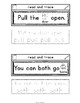 Sight Words Interactive Notebook Second Grade Set 9 (pull,