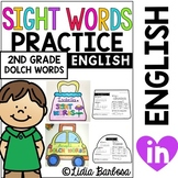 Sight Words On-the-Go *Purse and Carrying Case for Second Grade