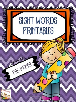 Sight Words- Dolch Pre-Primer Kindergarten