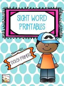 Sight Words- Dolch Primer Kindergarten