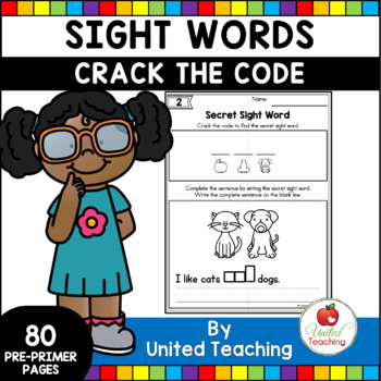 Sight Words Crack the Code Pre Primer Edition