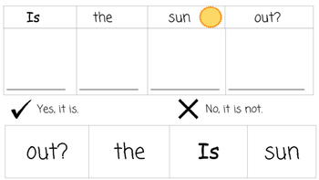 Sight Words: Questions and Answers