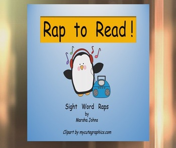 FREE Sight Words Rap to Read Promotional Video