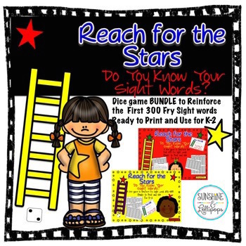 Sight Words: Reach for the Stars: Games to Reinforce the 1