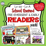 Guided Reading: School Sight Word Readers and Activities Bundle!