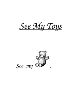 "PreK and Kindergarten Sight Words Book ""See"" and ""My"""