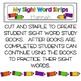 Sight Words Strips - Primer Words:  Make A Sight Word Prac