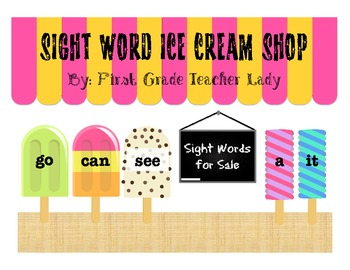 Dolch Sight Words Sweet Treat