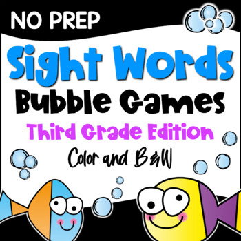 Dolch Sight Words Games Third Grade List