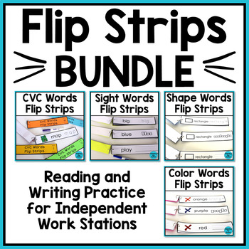 Sight Words and CVC Words - Word Work Task BUNDLE (Special