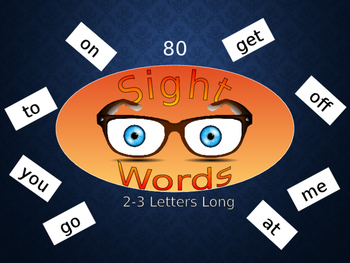 Sight Words Power Point Presentation Reading Spelling Engl