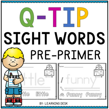 Sight Words with Q-Tips