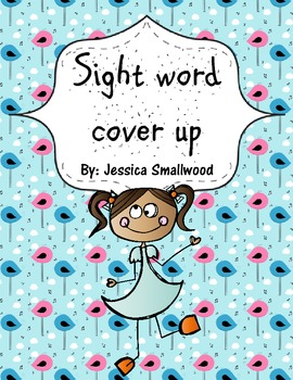 Sight word cover up- Fry's 1st 100