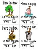 Sight word mini reader (On book)
