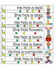 Sight word sentences pack 2