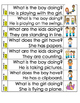 Sight word sentences pack 4