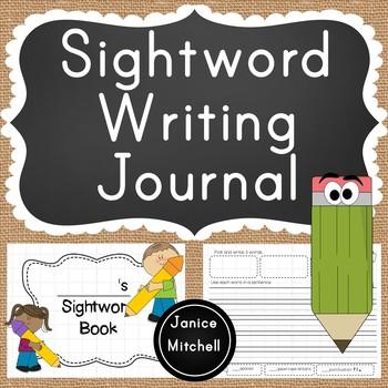 Sightword Book