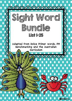 Sightword Bundle
