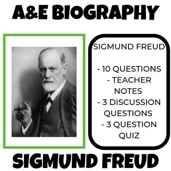 Sigmund Freud A and E Biography