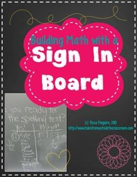 Sign In Board