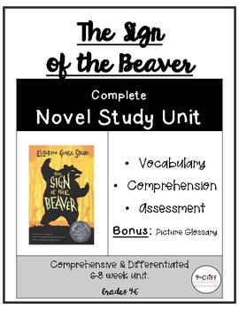 Sign of the Beaver Complete Unit BUNDLE