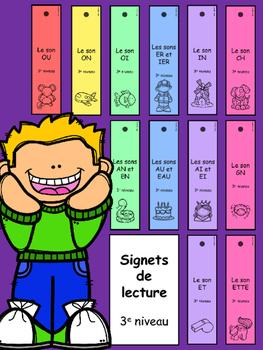 Signets de lecture - 3e niveau