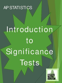 Significance Tests: An Introduction