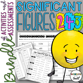 Significant Figures Bundle of Activities and Assessments
