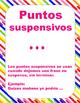 Signos de puntuacion (Posters)