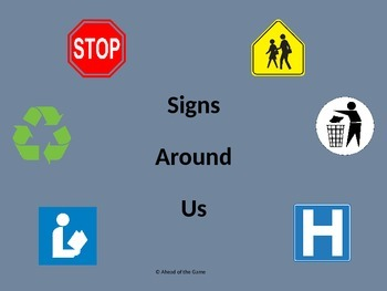 Signs Around Us powerpoint