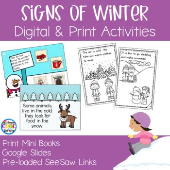 Signs of Winter Mini Books