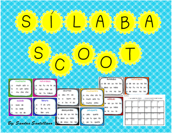 Silaba Scoot Game