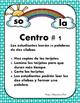 Silabas - 3 Centros de Silabas