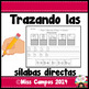 Silabas Directas - Sorting Spanish Initial Syllables