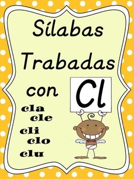 Silabas Trabadas CLA, CLE, CLI, CLO, CLU