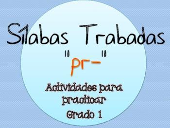 Silabas Trabadas PR- Paquete de actividades {Spanish Conso